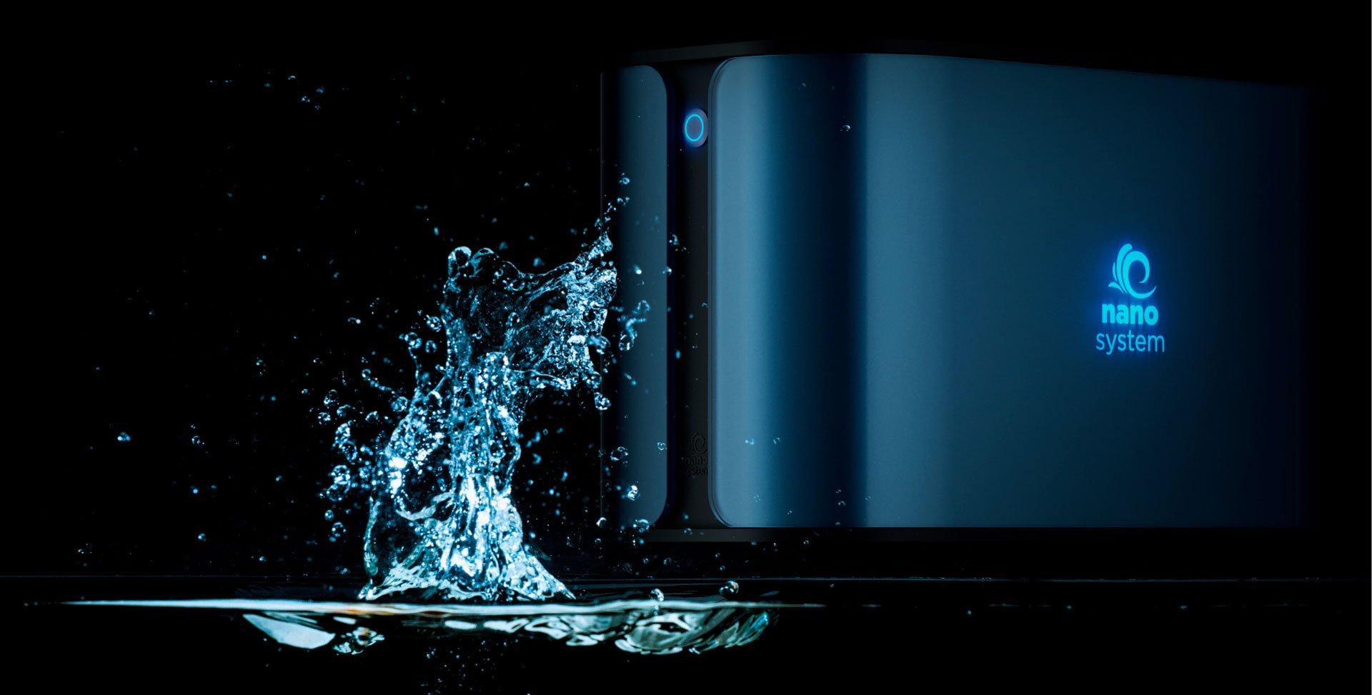 depurare acqua domestica rubinetto nanosystem goccia
