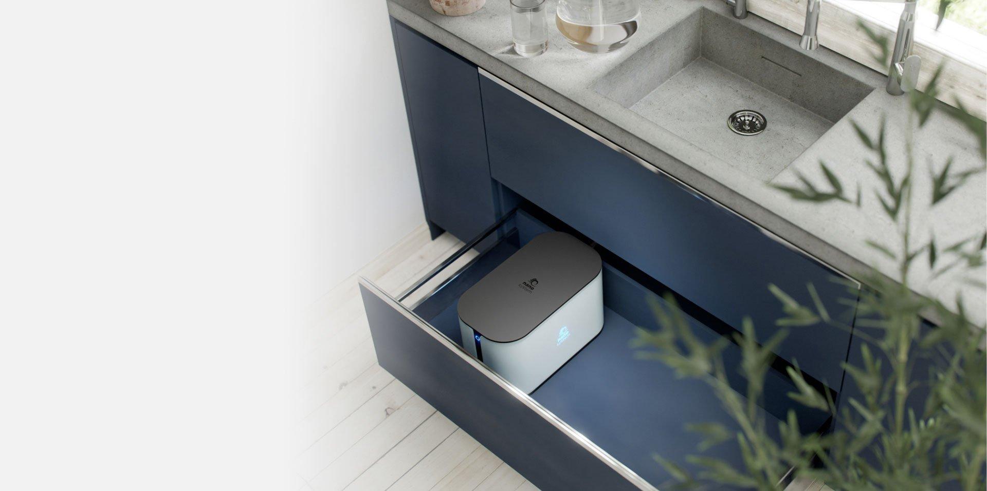 purificatori acqua domestici rivenditori nanosystem goccia vicenza
